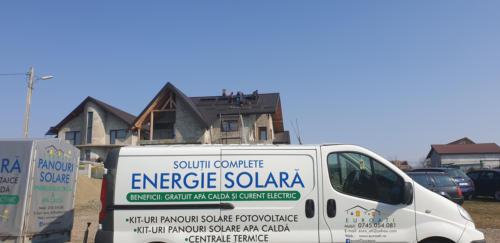 Centrala pe peleti cu aport de incalzire de la panouri solare (2)
